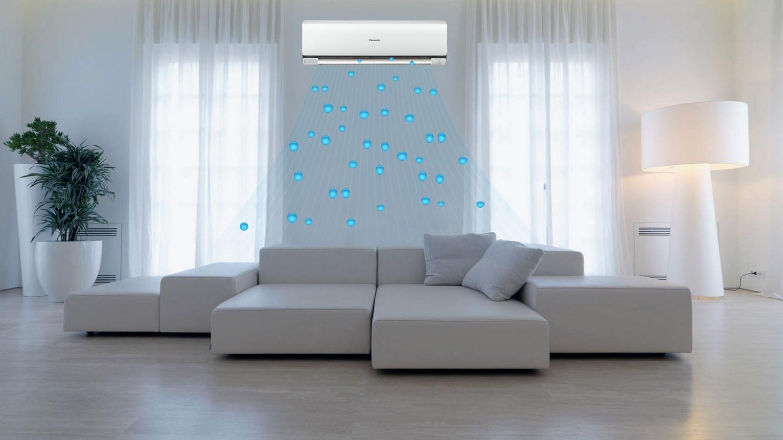 Phòng khách thường đông người nên chọn máy lạnh có công suất lớn hơn