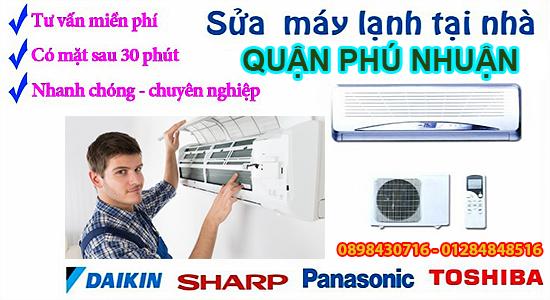 sửa máy lạnh phú nhuận