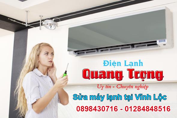 Sửa máy lạnh tại Vĩnh Lộc giá rẻ