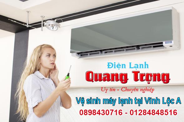 Dịch vụ vệ sinh máy lạnh tại Vĩnh Lộc A Bình Chánh